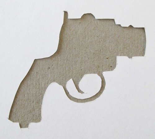 cut out gun