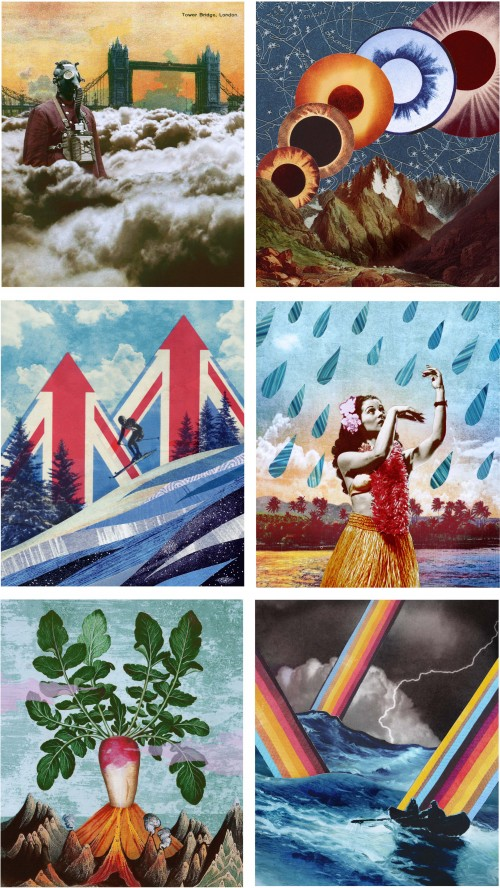 ONEILL  British Airways Highlife Spots illustrations